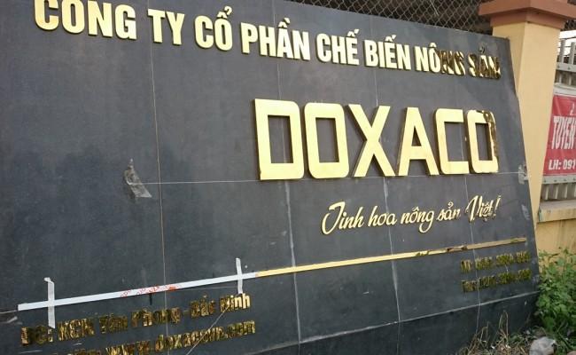 Biển công ty DOXACO Bắc Ninh