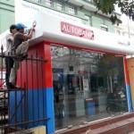 Thi công Booth ATM ngân hàng