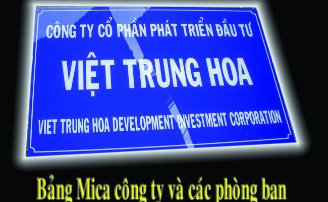 Làm biển công ty tại Bắc Giang