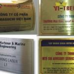 Làm biển công ty tại Bắc Giang, Bắc Ninh chất lượng và đẹp