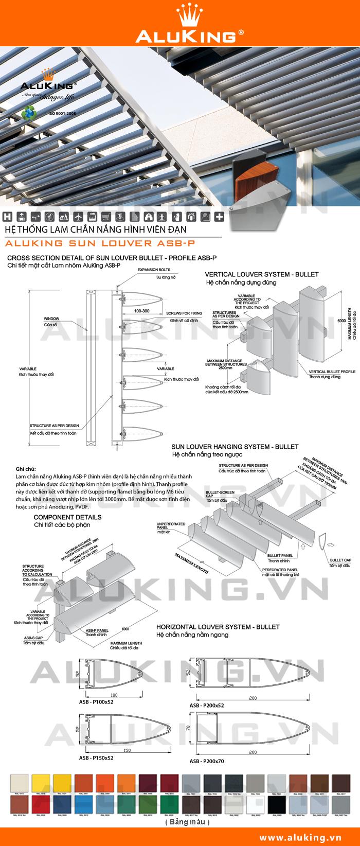 Lắp đặt lam chắn nắng chất lượng và uy tín