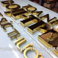Gia công chữ inox tại Bắc Giang